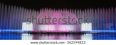 Fountain Illumination
