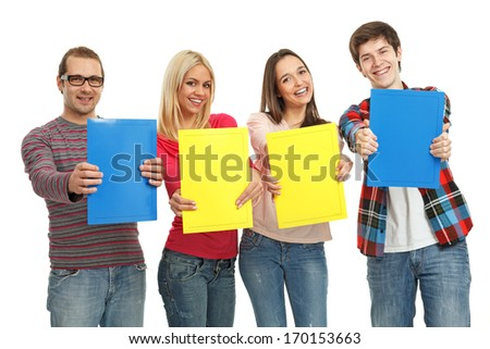 Four College Students