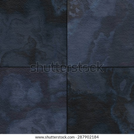 Four different marble texture.  - stock photo
