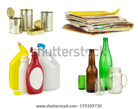 Waste glass stock images royalty free images vectors for Waste paper things