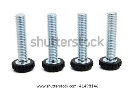 four screws - stock photo