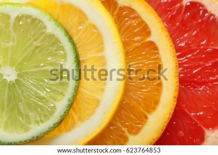 exotic fruits fruit slice
