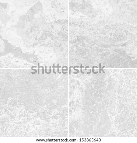 Four white marble texture (High resolution)
