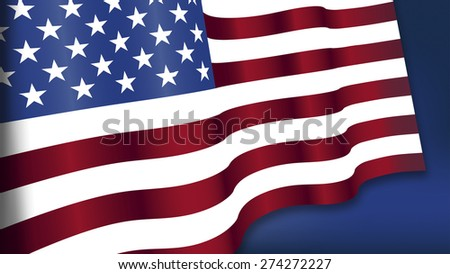 Fourth of July, Background, American flag