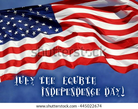Fourth of July / Independence Day Concept    - stock photo