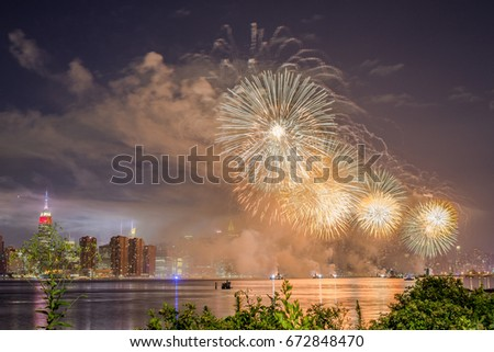 Fourth of July Spectacular Fireworks Display