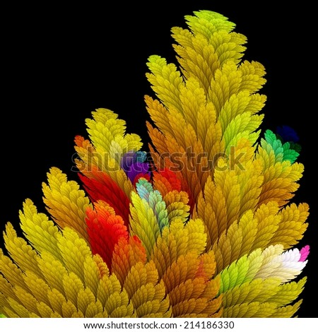Fractal abstraction  - stock photo