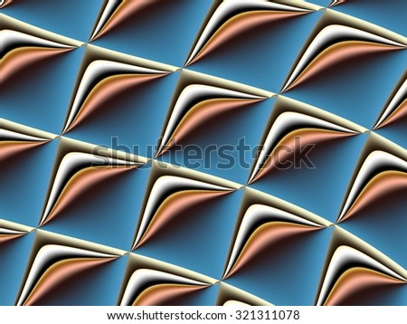 Fractal background. Collection - cells. Artwork for creative design, art and entertainment - stock photo
