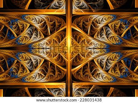 Fractal Geometry Fantasy - stock photo
