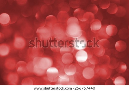 Fractal of defocused lights background / Abstract background / For festive and holiday background - stock photo