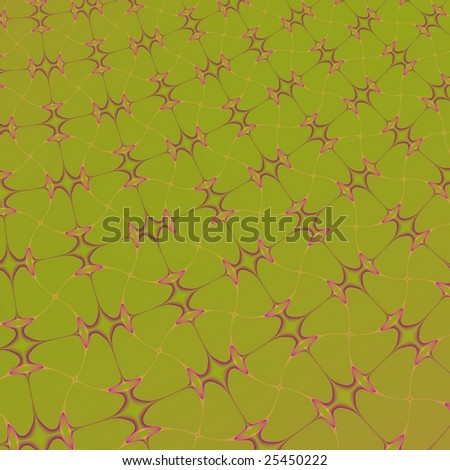 Fractal rendition of abstract colored backgrounds