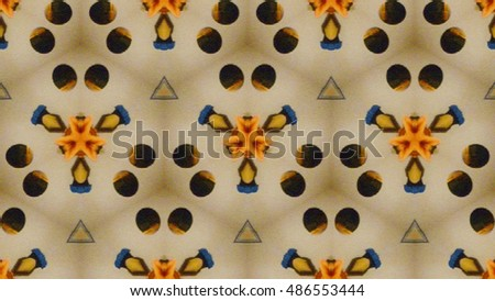 Fractal seamless repeat pattern