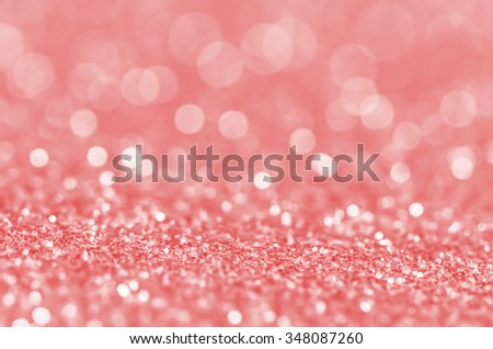 Fractals of defocused lights background / Abstract background / For festive, holiday and promotional background - stock photo