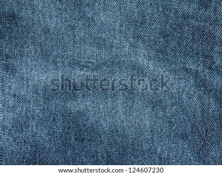 Fragment jeans - stock photo