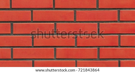 fragment new red brick wall texture background
