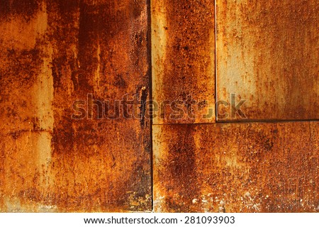 fragment of a rusty abstract background, stock image