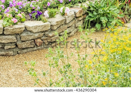 Excellent Decorative Bricks For Garden Walls Photos - Wall Art ...