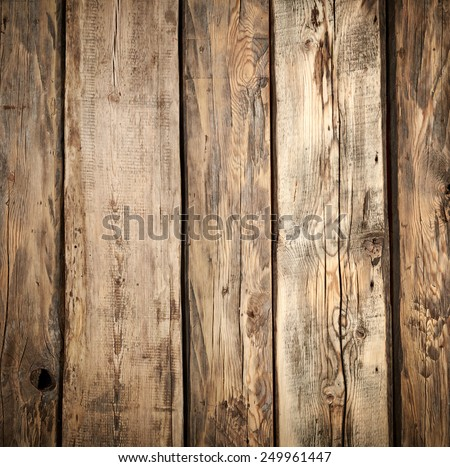 fragment of old wooden wall