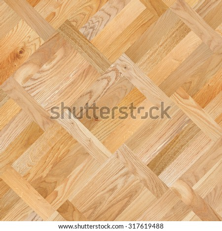 Fragment of parquet floor - stock photo