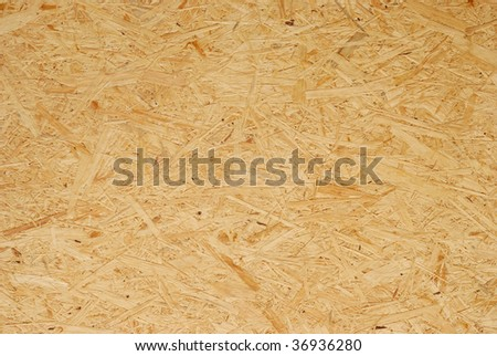 Fragment of  seamless grained particle board - stock photo