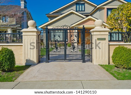 Gate Entrance Stock Photos Images Amp Pictures Shutterstock