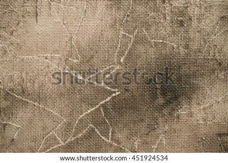 Fragment of the picture for the abstract artistic background. Toned. - stock photo