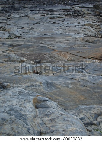fragments of rocks of the mountains as a background
