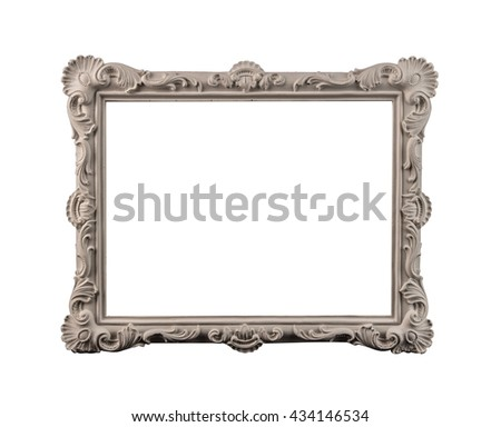 frame classic - stock photo