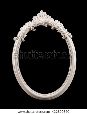 frame for pictures and mirrors - stock photo