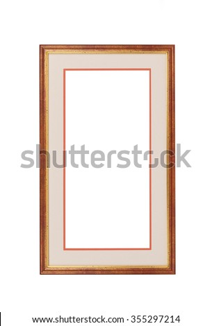 frame isolated on white background