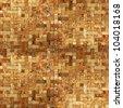 frame mosaic tile grunge background - stock photo