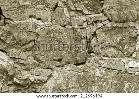 Frame or border for your text, architectural element with copy space, marble stone panel  - stock photo