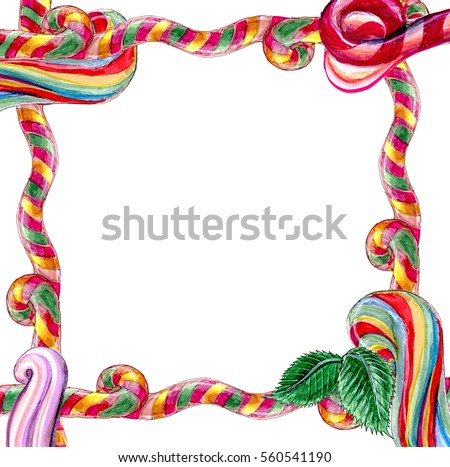 Candy Frame Stock Images Royalty Free Images Amp Vectors