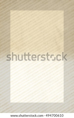 framed aged dual color corrugated abstract wavy surface  - copy space