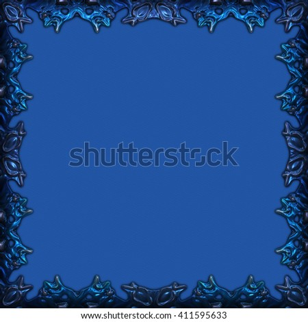 Framed paper great usage card invitation stock illustration framed paper great usage as a card invitation or scrapbook background stopboris Images