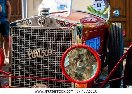 FRANCAVILLA,ITALY - JUNE 20.2015: Vintage Fiat 509 - stock photo