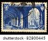 FRANCE - 1964: A stamp printed in France shows La Tour De Cesar, Provins, circa, 1964 - stock photo