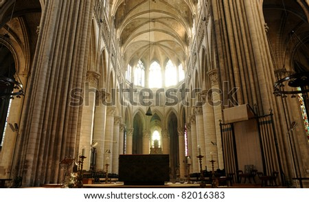 France, cathedral of Rouen in Normandy