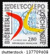 FRANCE - CIRCA 1994: a stamp printed in the France shows French Polytechnic Institute, Bicentenary, circa 1994 - stock photo