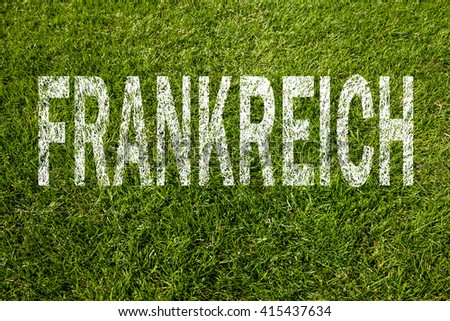 France football (german) - stock photo