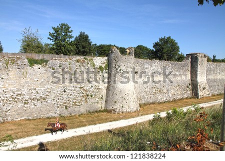 France, Seine et Marne, Provins listed as World Heritage by UNESCO - stock photo
