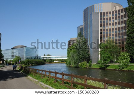 France, the European Parliament district of Strasbourg