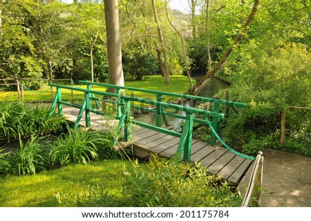 France, the Monet house in Giverny in Normandie - stock photo
