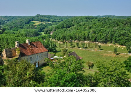 France, the picturesque village of Carlux in Dordogne