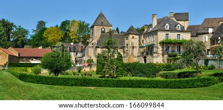 France, the picturesque village of Saint Genies
