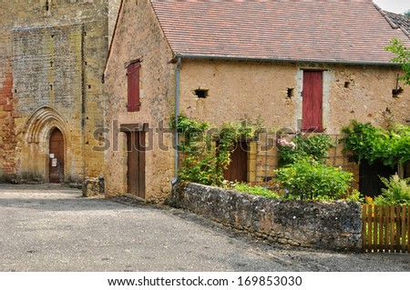 France, the picturesque village of Urval
