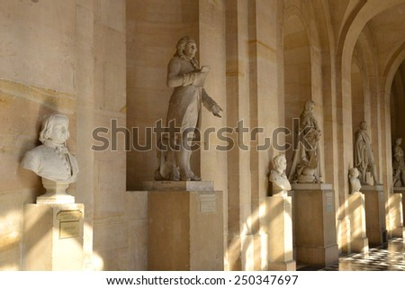 France, the Versailles Palace in Ile de France