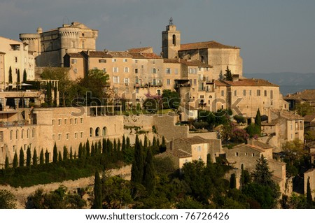 France, the village of Gordes in Provence