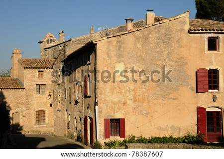 France, the village of Goult in Provence