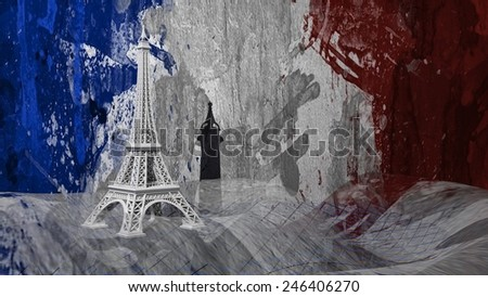 France - Tour Eiffel - stock photo